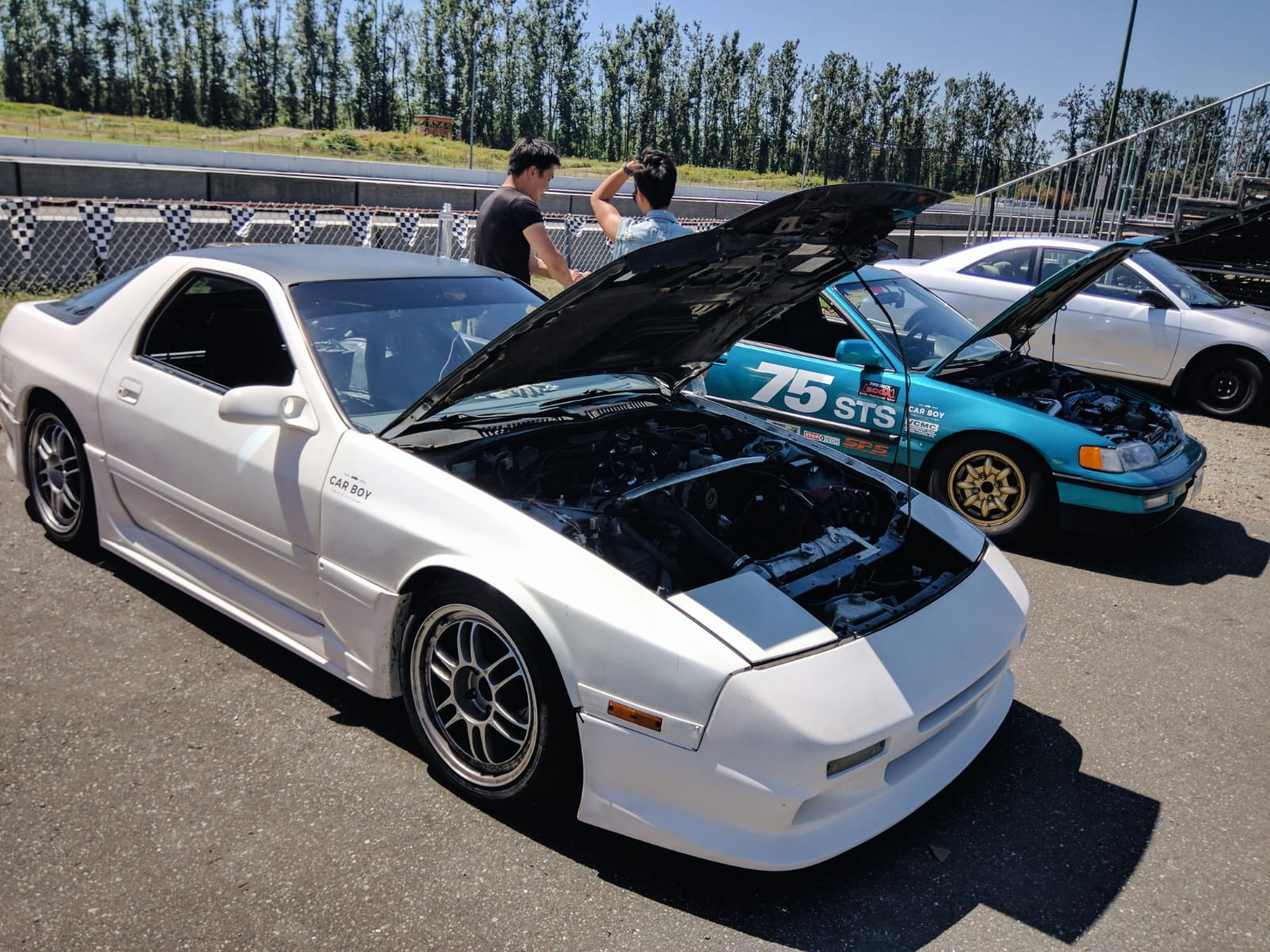 Track Day – Monday August 13